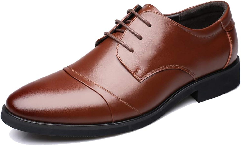 Ganzhoutuxinkejiyouxiangongsi Men's Oxford Fashion Classic Business Dress Men's shoes Strap Leather shoes