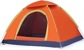 Tent أورانج للماء خيمة الشمس مزدوجة حزب خيمة تماما خيمة التلقائي بالكامل للأسرة المشي لمسافات طويلة والتسلق