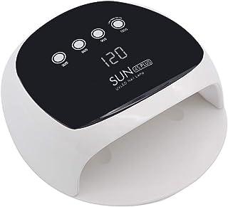 ZHTY Secador de uñas Inteligente automático sin Dolor 52W máquina de fototerapia de uñas de Secado rápido lámpara led secador de lámpara de uñas para Hacer esmaltes de uñas horneado a Man