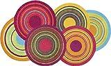 Wash+Dry Felpudo, Acrílico, Multicolor, 70 x 120 cm