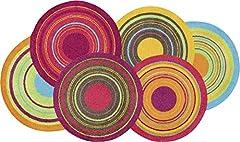 wash dry Fußmatte Cosmic Colours 70x120