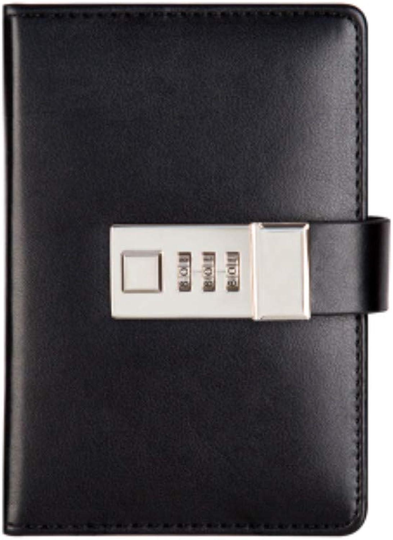 Creative A7 Pocket Schreibblöcke mit Schlosskennwort einfaches Mini-Tagebuch Mini-Tagebuch Mini-Tagebuch Notizbuch abschließbar Skizzenbuch Schulreisende liefert Innenseiten 192 Seiten 10x14.8cmA B07PY3QWS8 | Haltbar  e2f468