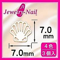 [フレーム]ネイルパーツ Nail Parts フレームシェル(L) ブラック 日本製 made in japan