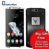 """Foto Oukitel K10000 5,5"""" Android 5.1 Smartphone MT6735 4G 10000mAh Super grande capacità Lollipop 720p 13MP 2GB RAM16GB ROM fotocamera in lega di alluminio Boby"""