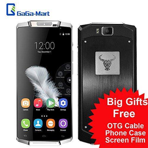 """Oukitel K10000 5,5"""" Android 5.1 Smartphone MT6735 4G 10000mAh Super grande capacità Lollipop 720p 13MP 2GB RAM16GB ROM fotocamera in lega di alluminio Boby"""