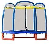 SkyBound Super 7 The Perfect Kid's Indoor/Outdoor Trampoline, 84' H