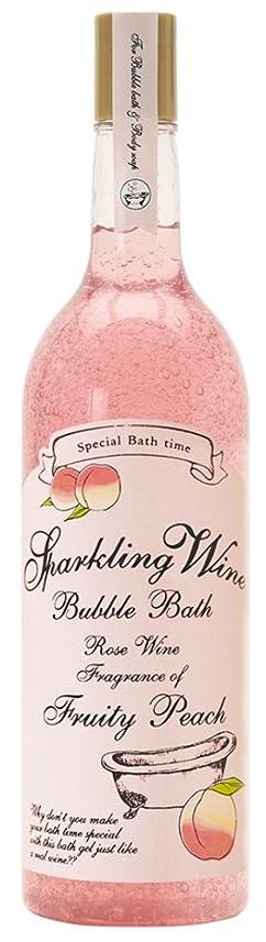 タフ見習い更新するノルコーポレーション 入浴剤 バブルバス スパークリングワイン 大容量 810ml ピーチの香り OB-WIB-3-3