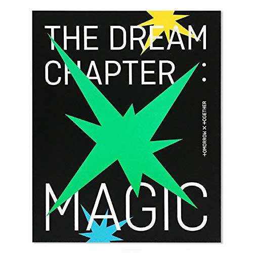 Tomorrow X Together TXT Album - The Dream Chapter : Magic [ ARCADIA ver. ] CD + Photobook + Student ID Pad + Sticker Pack + Viewer Glasses + Photocards + FREE GIFT
