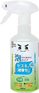 レック セスキの激落ちくん 密着泡スプレー 洗剤 400ml (洗浄・除菌・消臭) アルカリ電解水 + セスキ炭酸ソーダ 安心 安全 2度拭き不要