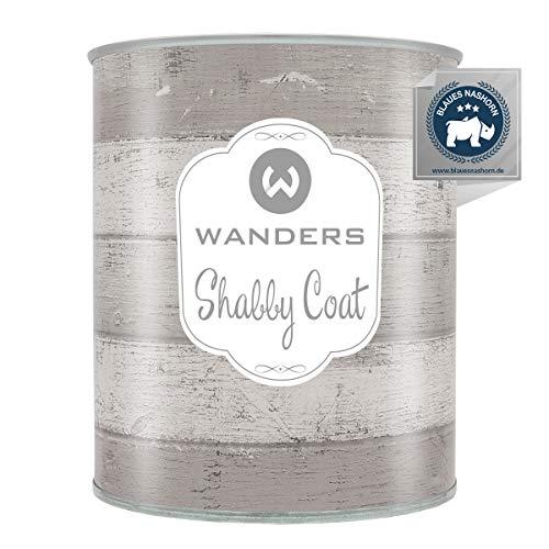 Wanders24® Shabby Coat (750 ml, matt) Shabby Versiegelung matt für Chalk Paint - Kreidefarbe Versiegelung wasserfest - Made in Germany