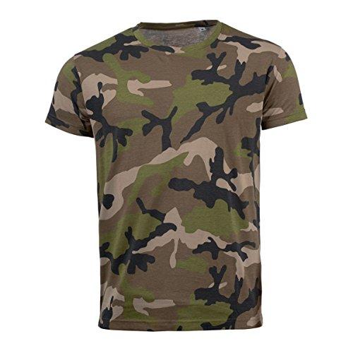 SOLS - T-shirt à motif camouflage - Homme (M) (Camouflage)
