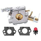 Fuel Li C1M-H58 Carburetor with Gasket for Ryobi Homelite UT10519 UT10522 UT105526 46cc Chainsaw 309360002 309360001