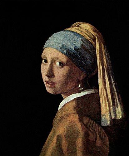 Berkin Arts Johannes Vermeer Giclee Kunstdruckpapier Kunstdruck Kunstwerke Gemälde Reproduktion Poster Drucken(Jan Vermeer Van Delft Mädchen mit Perlenohrring)