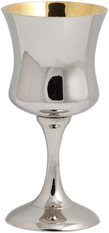 Zion Judaica Classic New color Kiddush Cup - Optional Polished High Nashville-Davidson Mall Pers