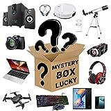 DDSGG Mystery Box Electronics, Caja Sorpresa de cumpleaños, Caja de la Suerte para Adultos, Regalo Sorpresa, como Drones, mandos para Juegos y más, Estilo Aleatorio