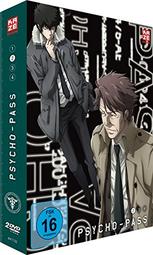 Psycho-Pass - Staffel 1 - Vol.2 - [DVD]