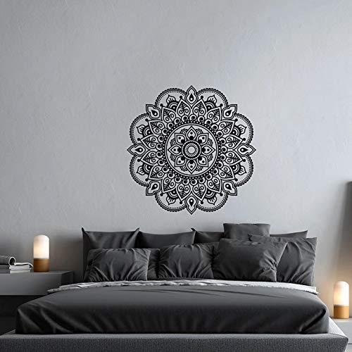 Mandala Vinilo Pared Mandala Pared Yoga Meditación Estilo Mandala Arte de la pared