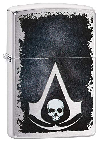 Zippo 200 Assassin\'s Creed Feuerzeug, Silber, One Size