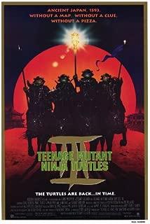Pop Culture Graphics Teenage Mutant Ninja Turtles 3 Poster 27x40 Elias Koteas Paige Turco Stuart Wilson