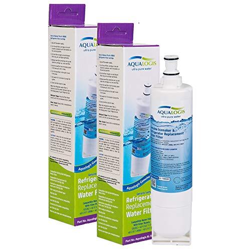 2x AL 508SBS-Filtro dell'acqua per frigorifero, compatibile con SBS002-481281729632, 461950271171, 4396508 481281728986, Whirlpool, Smeg, Ariston, Hotpoint'