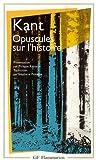 Opuscules sur l'histoire - FLAMMARION - 07/01/1993