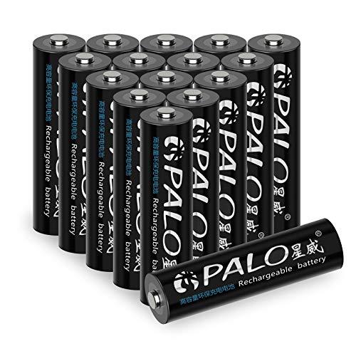Palo 16 Pack 300 mAh AAA 1,2 V NI-MH Akkus – UL Zertifikat