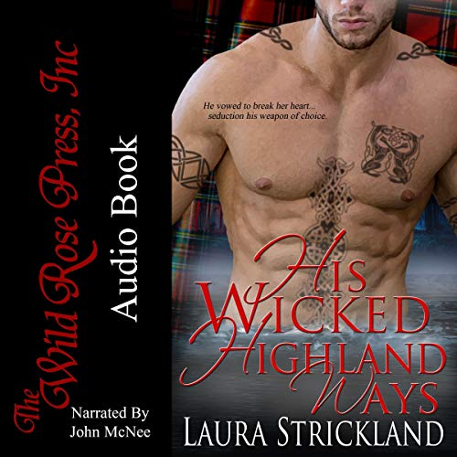 His Wicked Highland Ways audiobook cover art