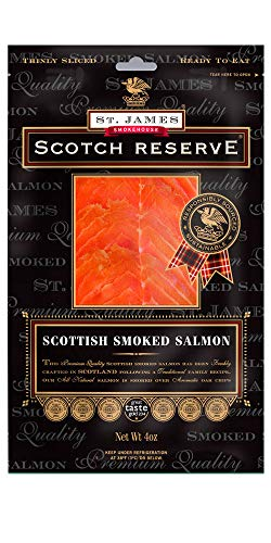 Scotch Reserve Scottish Smoked Salmon 1 lb - Sliced & Skinless