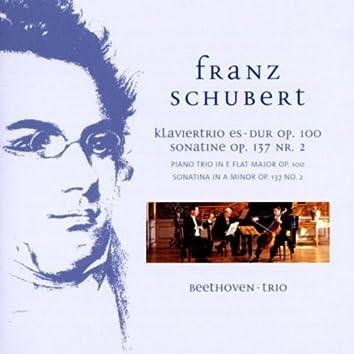 Schubert: Piano Trio in E-Flat Major, Op. 100 & Sonatina in A Minor, Op. 137 No. 2