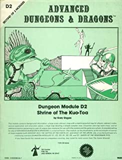 Shrine of the Kuo-Toa (Advanced Dungeons and Dragons Module D2)