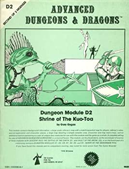 D2 Shrine of the Kuo-Toa - Book  of the Advanced Dungeons and Dragons Module #C4