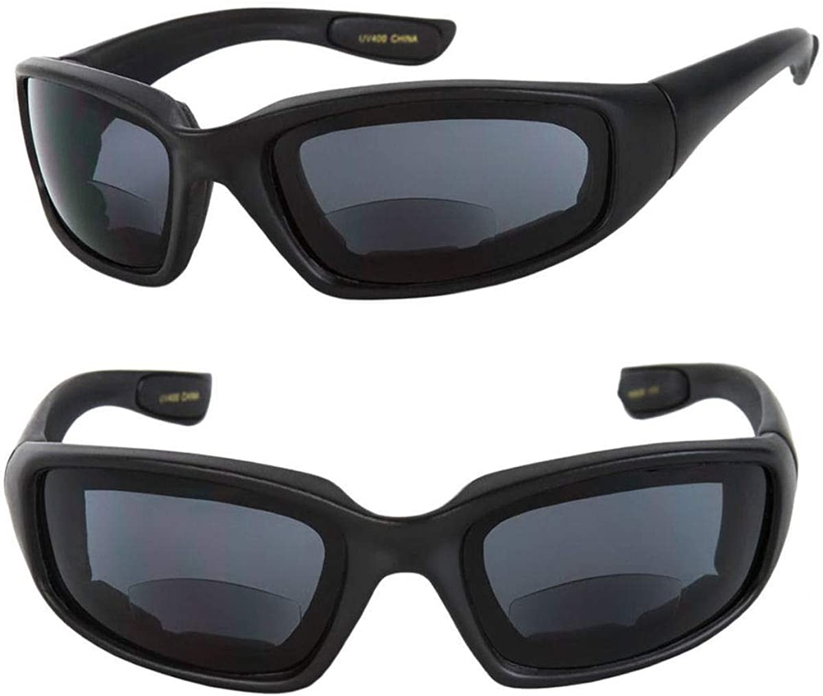 Motorcycle Bifocal Very popular Sunglasses Award 2 Pair Included EVA Safety - Gog