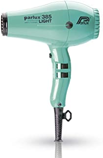 Parlux 385 Powerlight Ceramic & Ionic Dryer 2150W, Aquamarine