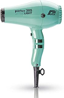 Parlux 385 Powerlight Ceramic & Ionic Dryer 2150W, Aquamarine, 710 g