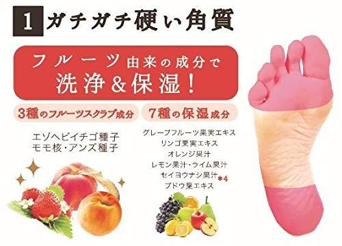 ペリカン石鹸フルーツで洗う足の石鹸80g