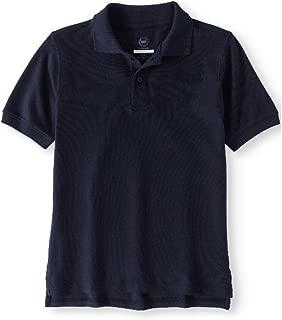 Boys' Polo Shirt(School Uniform) Size 4/5XS(Navy)