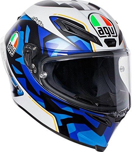 AGV Motorradhelm Corsa R E2205 Replica PLK, Espargaro Blau 2017, Größe XL
