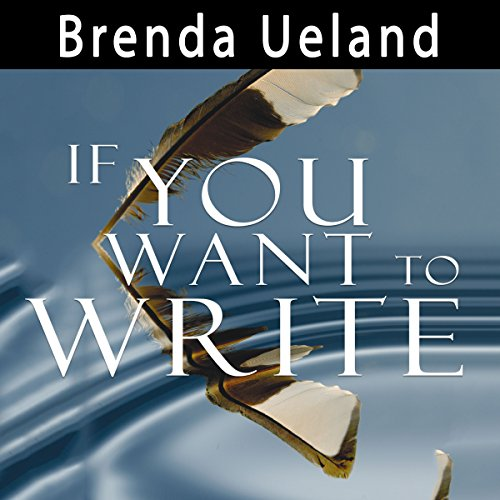 If You Want to Write audiobook cover art