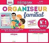 Organiseur familial Mémoniak 2020-2021 d'Editions 365