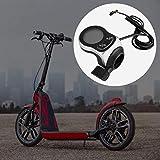 DAUERHAFT Fina artesanía Controlador de Bicicleta eléctrica Ahorro de energía Buena dureza Adecuado para Bicicletas eléctricas y Scooters Mejor protección para el(48V 250/350W)