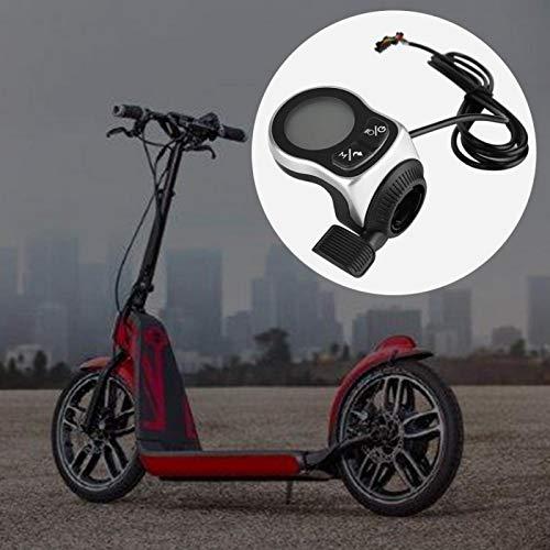 DAUERHAFT Pantalla del Controlador de Scooter Materiales de Calidad Duradera Eficiente Impermeable Silencioso Mejor protección para el Circuito Interior(48V 250/350W)