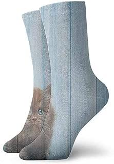 Pattern Socks,Socks Men Pack,Sock Women,Socks For Girls,Animal,Coral Mint Green-3.3