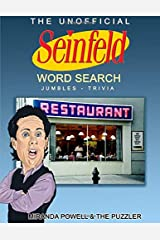 THE UNOFFICIAL SEINFELD WORD SEARCH, JUMBLES AND TRIVIA BOOK Paperback