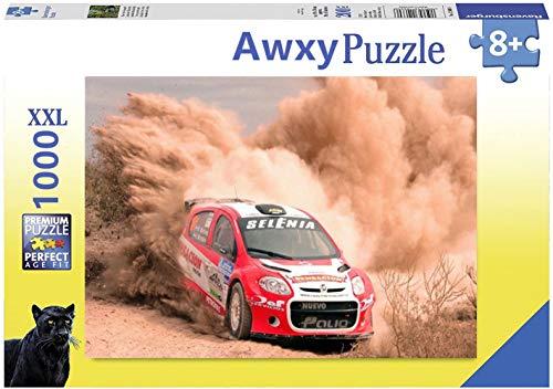 Awxy 1000 piezas Jigsaw puzzle para adultos, materiales reciclables de alta calidad y expresión de alta resolución, juegos familiares, regalos para amantes o amigos (rojo, 500)