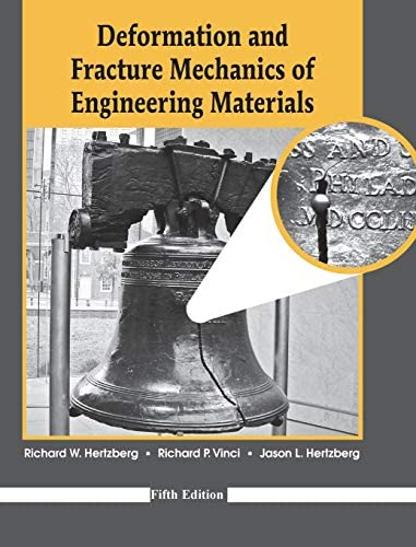 Deformation and Fracture Mechanics of Engineering Materials product image