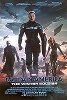 映画ポスター キャプテンアメリカ ウィンターソルジャー マーベル US版 ds2 両面印刷 D/S [並行輸入品]
