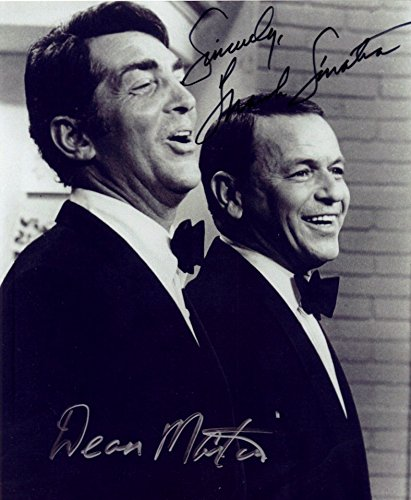 Kirkland Signature-Nachdruck von Frank Sinatra & Dean Martin, 20,3 x 25,4 cm, Fotopapier