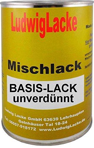 1 L unverdünnter Laque auto pour Chevrolet Med. Grey, métallique, che85 : 15 Bj. 85–91