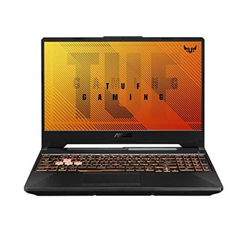 ASUS TUF Gaming F15 FX506LU-HN106T (Bonfire Black)- 8 Core Intel Core i7-10870HProcessor2.2GHz, 16 GB RAM, 1TB SSD, NVIDIA GeForce GTX1660Ti, 15.6-inch FHD 144Hz, Window 10, Backlit-Eng-Arb-KB.