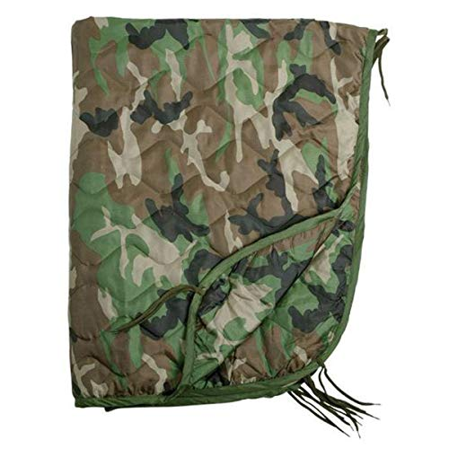 Mil-Tec Poncho Liner (Steppdecke) Woodland [Misc.]